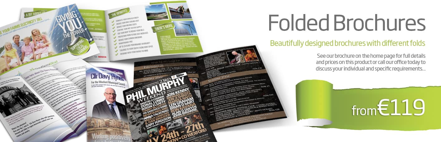 brochure design and printing wexford - Diskin Design