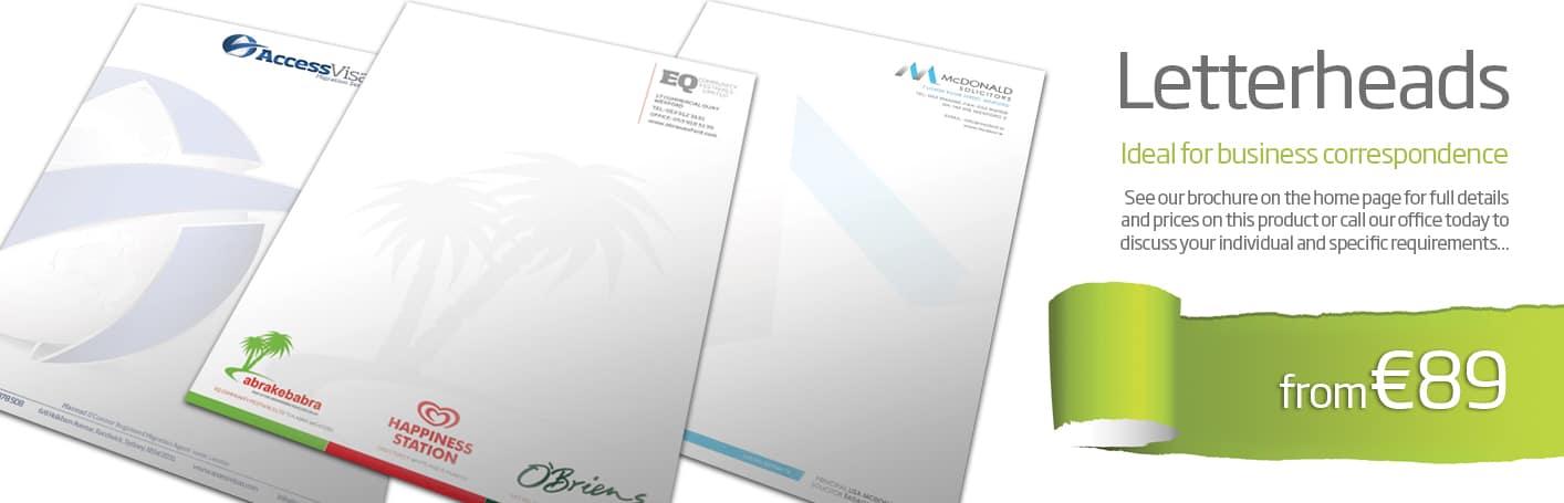 Letterhead Design & Printing Wexford - Diskin Design