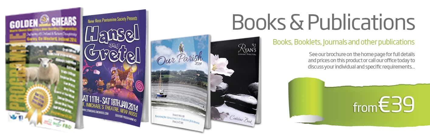 Publications & Booklet Digital Printing Wexford