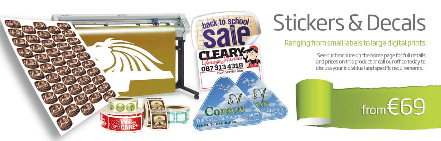 stickers & label printing wexford